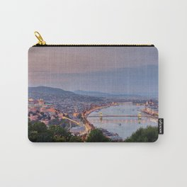 Budapest Cityscape Carry-All Pouch