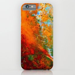 Turquoise and Copper 1776 iPhone Case