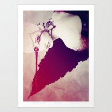 The Soul - generative mix Art Print