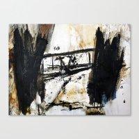 bridge Canvas Prints featuring bridge by woman