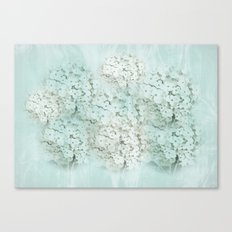 SHADY HYDRANGEAS Canvas Print
