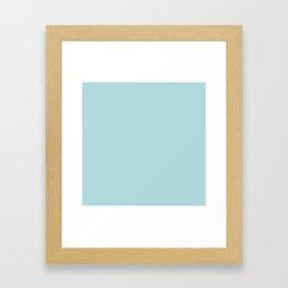 Simply Pretty Blue Framed Art Print