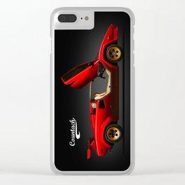Countach Clear iPhone Case