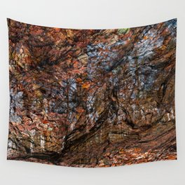 Avalon Wood Impressions Wall Tapestry