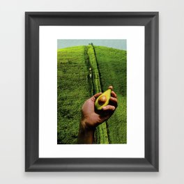 Up Hill Framed Art Print