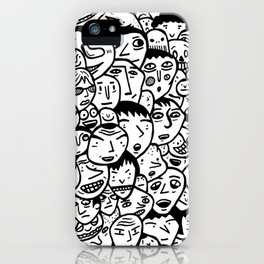 Friendly Faces  iPhone Case