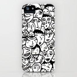 Friendly Faces  iPhone Case