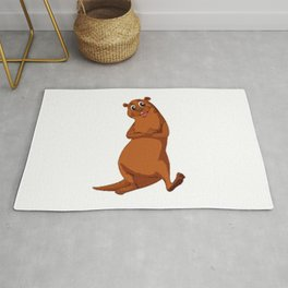 Otter Be Happy Rug