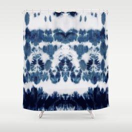 Shibori Not Sorry Shower Curtain