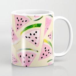 Watermelon Twist Vibes #6 #tropical #fruit #decor #art #society6 Coffee Mug
