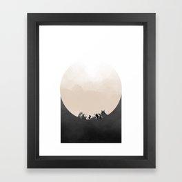 b1 Framed Art Print