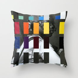 Untitled (or, The Historical Burden of Color Theory) Throw Pillow