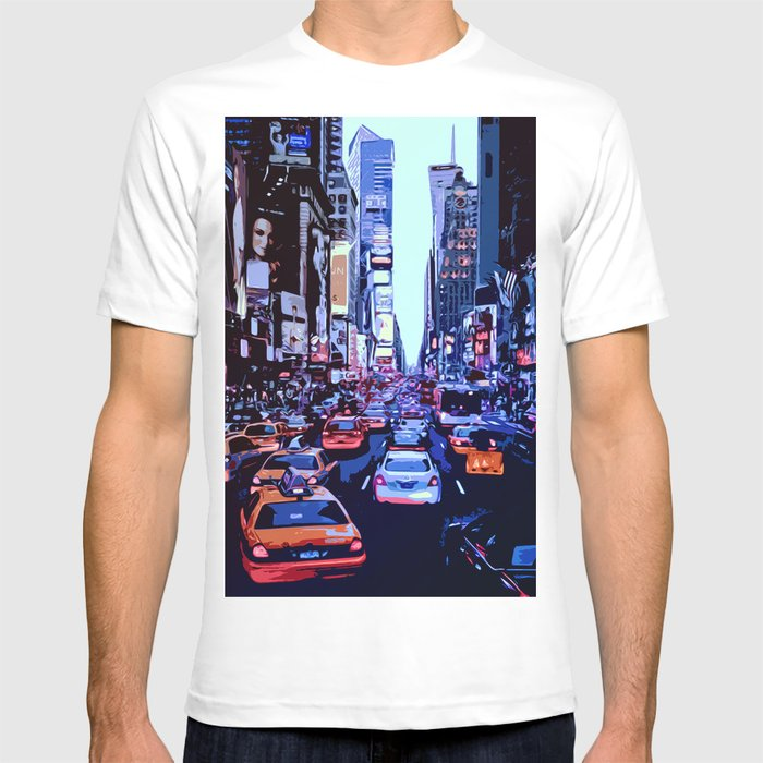 Through the streets of New York City T-shirt