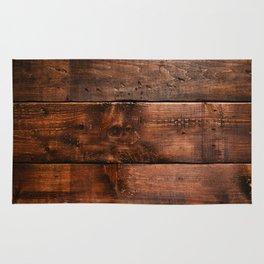Natural Wood Boards Rug