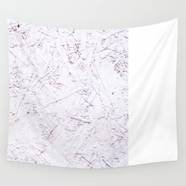 White Chipboard Wall Tapestry