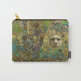 Into the Woods Abstract Art Collage Carry-All Pouch
