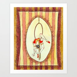 C is for Circus Art Print