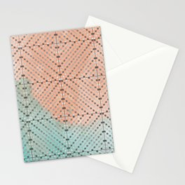 Spring Abacus Beads Stationery Cards
