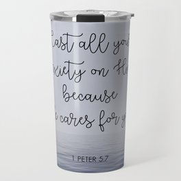 Cast All Your Anxiety on Him Travel Mug