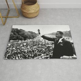 Martin Luther King March On Washington Speech Rug