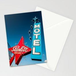 vegas stardust ! vintage starlite motel  Stationery Cards