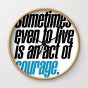 seneca quote, typography art by pmstudio