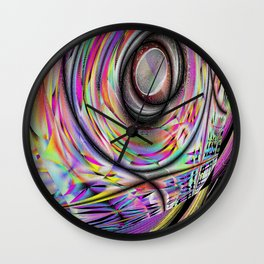 Microstructure Wall Clock