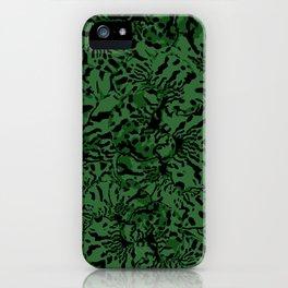 GREEN TRIDANCA iPhone Case