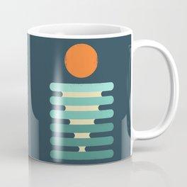Minimalist ocean Coffee Mug