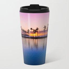 Sunset on Hawaiian Beach Travel Mug