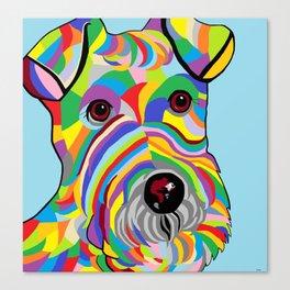 Wire Fox Terrier Canvas Print