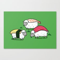Susheep Canvas Print