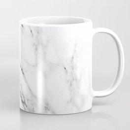 Carrara White Marble Coffee Mug