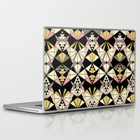 kaleidoscope Laptop & iPad Skins featuring Kaleidoscope by Kimsa