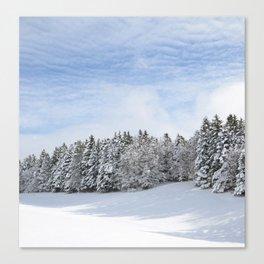 Charteuse Mountain2 Canvas Print