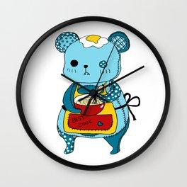 """Kookie"" The Bear Wall Clock"