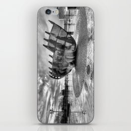 Merchant seafarer's war memorial 2 mono iPhone Skin