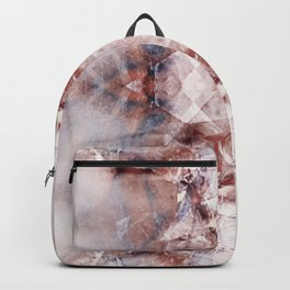 MARSALA KALEIDOSCOPE SPLASH 03 Backpack