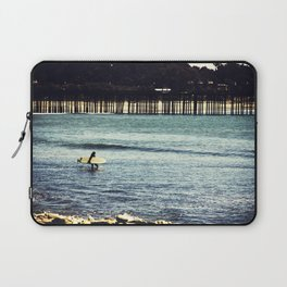 Longboard Pier Laptop Sleeve