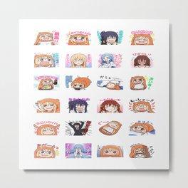 Himouto! Umaru-chan 10 Metal Print