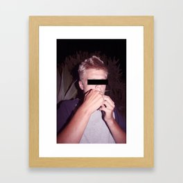 Dangers Framed Art Print