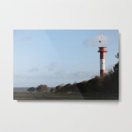 Leuchtturm Marienleuchte Metal Print