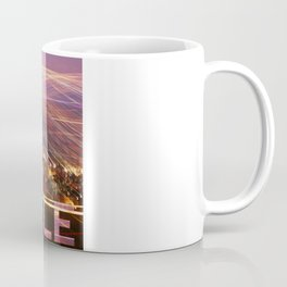 Seattle long exposure  Coffee Mug
