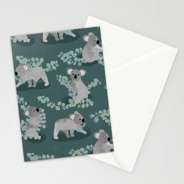 Koala Eucalyptus Hunt Stationery Cards