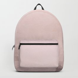 Misty pink peaks Backpack