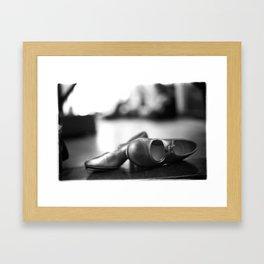 Waiting To Dance Framed Art Print