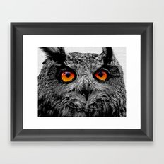YOU'RE THE ORANGE OF MY EYES Framed Art Print