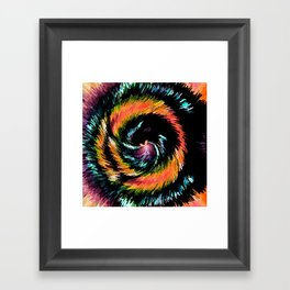 Every Day With You Is Colorful - Whirlwind Romance  Framed Art Print