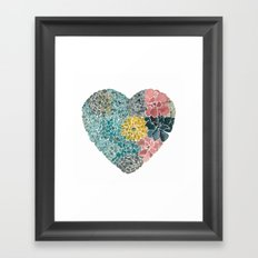Rooted in Love No.1 Framed Art Print