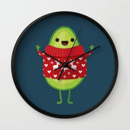 AVO MERRY CHRISTMAS Wall Clock